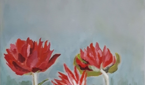 Wild flowers 60x80 cm- 575 euro