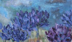 flowers at Sissinghurst 70x90 cm- verkocht