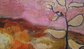 Zomeravond in de duinen 50x100 cm- verkocht