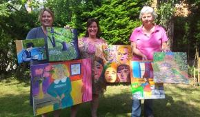 Met inspiratie van Matisse en Van Gogh