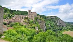 mooi stukje Frankrijk- uitstapje naar Saint Cirq la Popie/ Lot en Dordogne