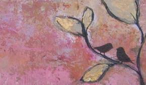Detail uit schilderij-  verkocht