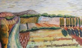 Quercy en Septembre 80x140 cm-  €750