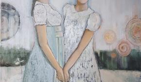 Meisjes van de bakker- 100x120 cm 800 euro